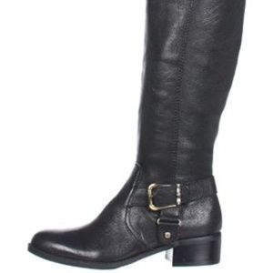 Circa Joan & David Renya Black New Knee High Boots